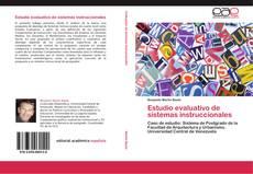 Portada del libro de Estudio evaluativo de sistemas instruccionales