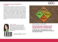 Crecimiento urbano y la degradación ambiental kitap kapağı