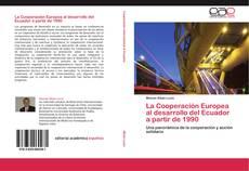 Buchcover von La Cooperación Europea al desarrollo del Ecuador a partir de 1990