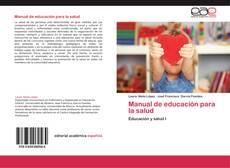Bookcover of Manual de educación para la salud
