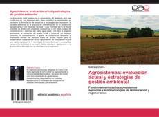 Portada del libro de Agrosistemas: evaluación actual y estrategias de gestión ambiental