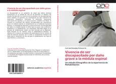 Обложка Vivencia de ser discapacitado por daño grave a la médula espinal