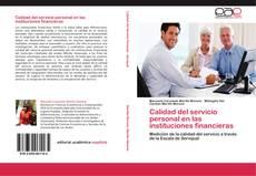 Copertina di Calidad del servicio personal en las instituciones financieras