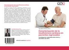 Buchcover von Caracterización de la insuficiencia cardiaca en pacientes ingresados