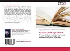 Creatividad Empresarial的封面