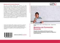 Capa do livro de Modelos de Formación Docente
