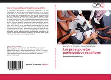 Обложка Los presupuestos participativos españoles