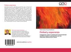 Buchcover von Finitud y esperanza