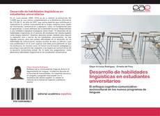Capa do livro de Desarrollo de habilidades lingüísticas en estudiantes universitarios