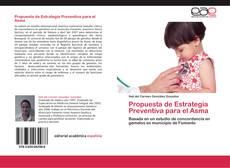 Buchcover von Propuesta de Estrategia Preventiva para el Asma