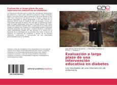 Portada del libro de Evaluación a largo plazo de una intervención educativa en diabetes