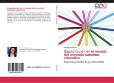 Bookcover of Capacitación en el manejo del proyecto canaima educativo