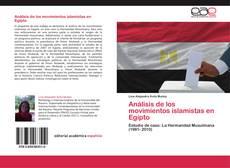 Análisis de los movimientos islamistas en Egipto kitap kapağı