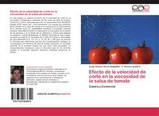 Обложка Efecto de la velocidad de corte en la viscosidad de la salsa de tomate
