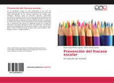 Couverture de Prevención del fracaso escolar