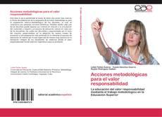 Portada del libro de Acciones metodológicas para el valor responsabilidad