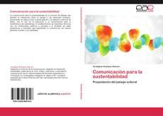 Portada del libro de Comunicación para la sustentabilidad