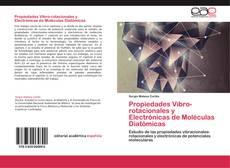 Capa do livro de Propiedades Vibro-rotacionales y Electrónicas de Moléculas Diatómicas