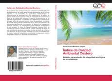 Bookcover of Índice de Calidad Ambiental Costero