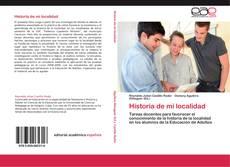 Обложка Historia de mi localidad