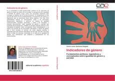 Capa do livro de Indicadores de género
