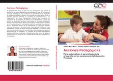 Buchcover von Acciones Pedagógicas