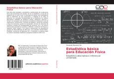 Estadística básica para Educación Física kitap kapağı