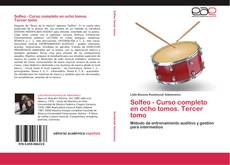 Bookcover of Solfeo - Curso completo en ocho tomos. Tercer tomo