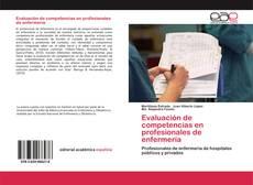 Portada del libro de Evaluación de competencias en profesionales de enfermería