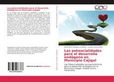 Capa do livro de Las potencialidades para el desarrollo endógeno en Municipio Cajigal