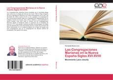 Capa do livro de Las Congregaciones Marianas en la Nueva España Siglos XVI-XVIII