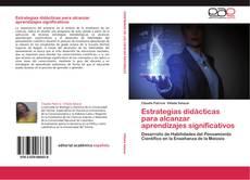 Bookcover of Estrategias didácticas para alcanzar aprendizajes significativos