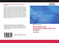 Bookcover of Formulación de Indicadores Aplicados a la Calidad