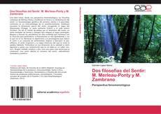 Bookcover of Dos filosofías del Sentir: M. Merleau-Ponty y M. Zambrano