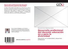 Portada del libro de Desarrollo profesional del docente educación en y para la diversidad