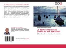 Portada del libro de La delincuencia en la ciudad de San Sebastián