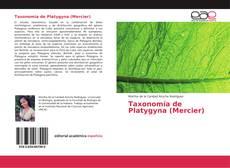 Portada del libro de Taxonomía de Platygyna (Mercier)