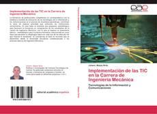 Portada del libro de Implementación de las TIC en la Carrera de Ingeniería Mecánica