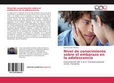 Buchcover von Nivel de conocimiento sobre el embarazo en la adolescencia