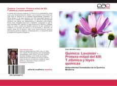 Capa do livro de Química: Lavoisier -Primera mitad del XIX:  T.atómica y leyes químicas