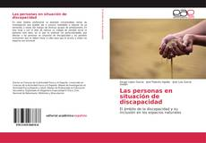 Portada del libro de Las personas en situación de discapacidad