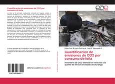 Buchcover von Cuantificación de emisiones de CO2 por consumo de leña