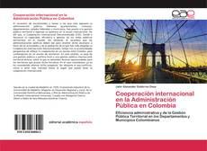 Portada del libro de Cooperación internacional en la Administración Pública en Colombia