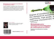 Portada del libro de Metodología para minimizar la incertidumbre de calibradores en HPLC