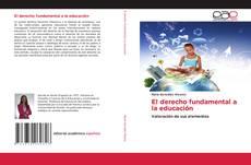 Portada del libro de El derecho fundamental a la educación