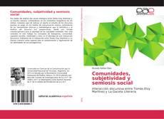 Обложка Comunidades, subjetividad y semiosis social