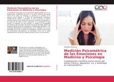 Buchcover von Medición Psicométrica de las Emociones en Medicina y Psicología