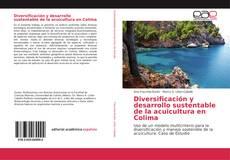 Buchcover von Diversificación y desarrollo sustentable de la acuicultura en Colima