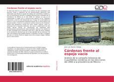 Portada del libro de Cárdenas frente al espejo vacío