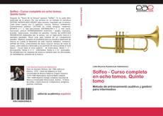 Bookcover of Solfeo - Curso completo en ocho tomos. Quinto tomo